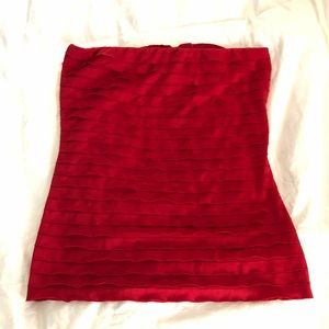 The Limited Red Tube top S